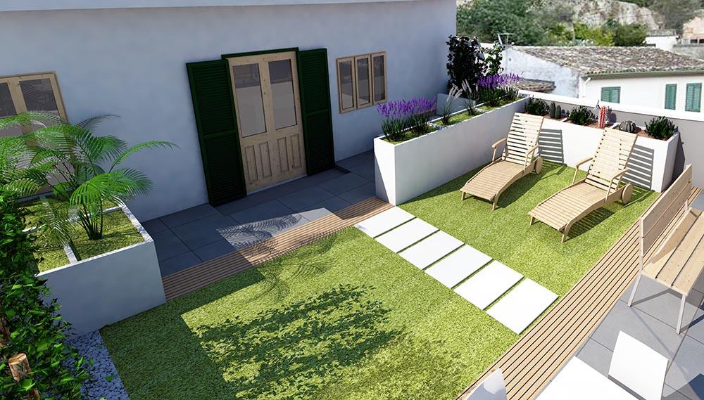 terrazzo 4 DEF - Green