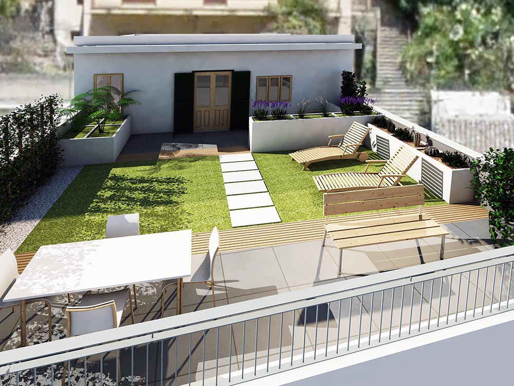 terrazzo1 DEF - Green