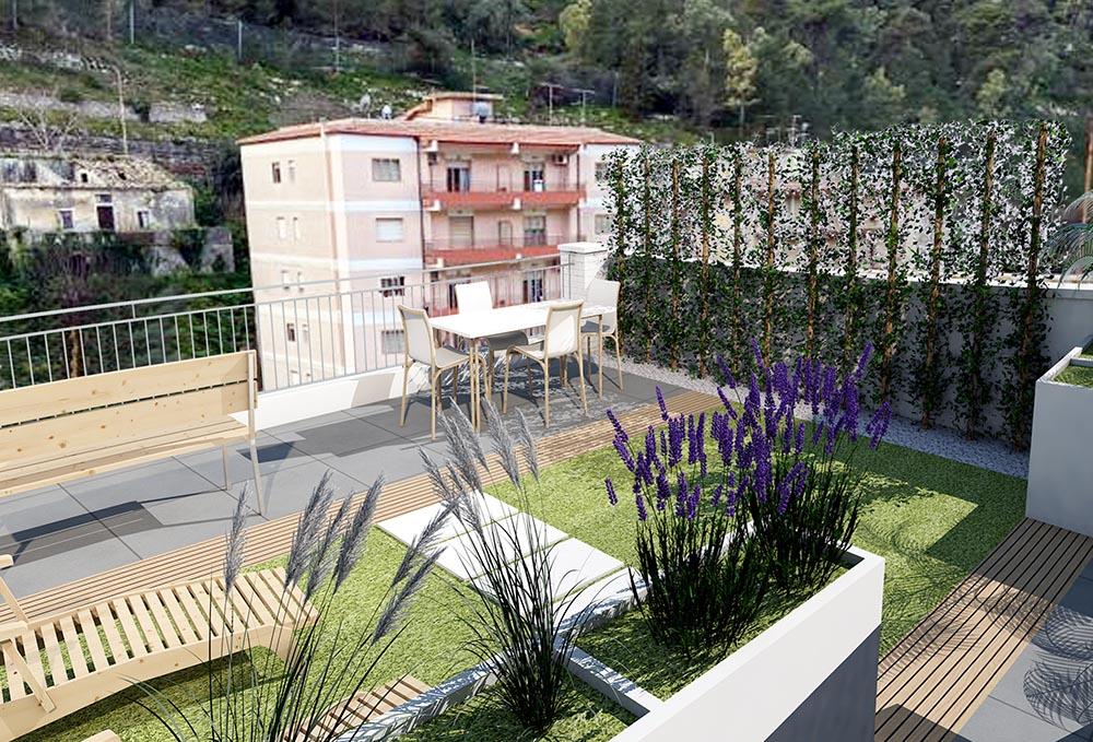 terrazzo3 DEF - Green
